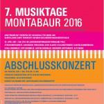 7. Musiktage 2016
