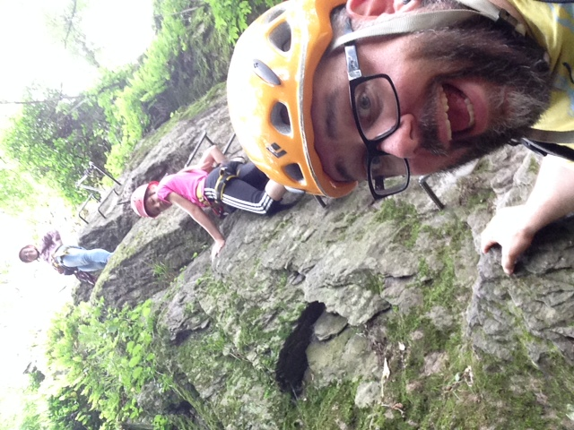 Klettersteig Pfalz : Klettersteig als geschenk und geschenkidee mydays