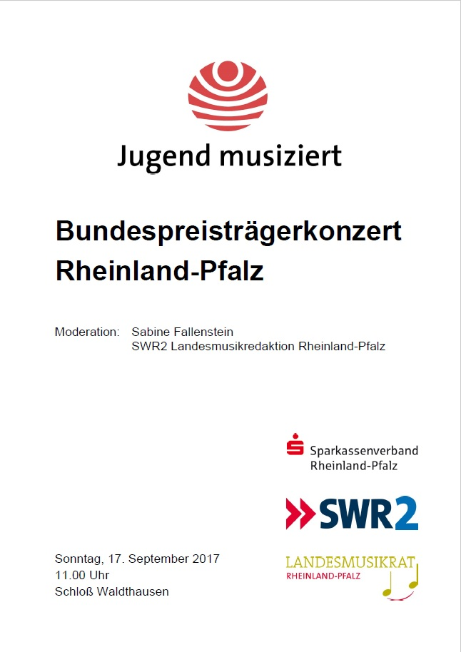 JuMu 2017 Bundespreistraegerkonzert