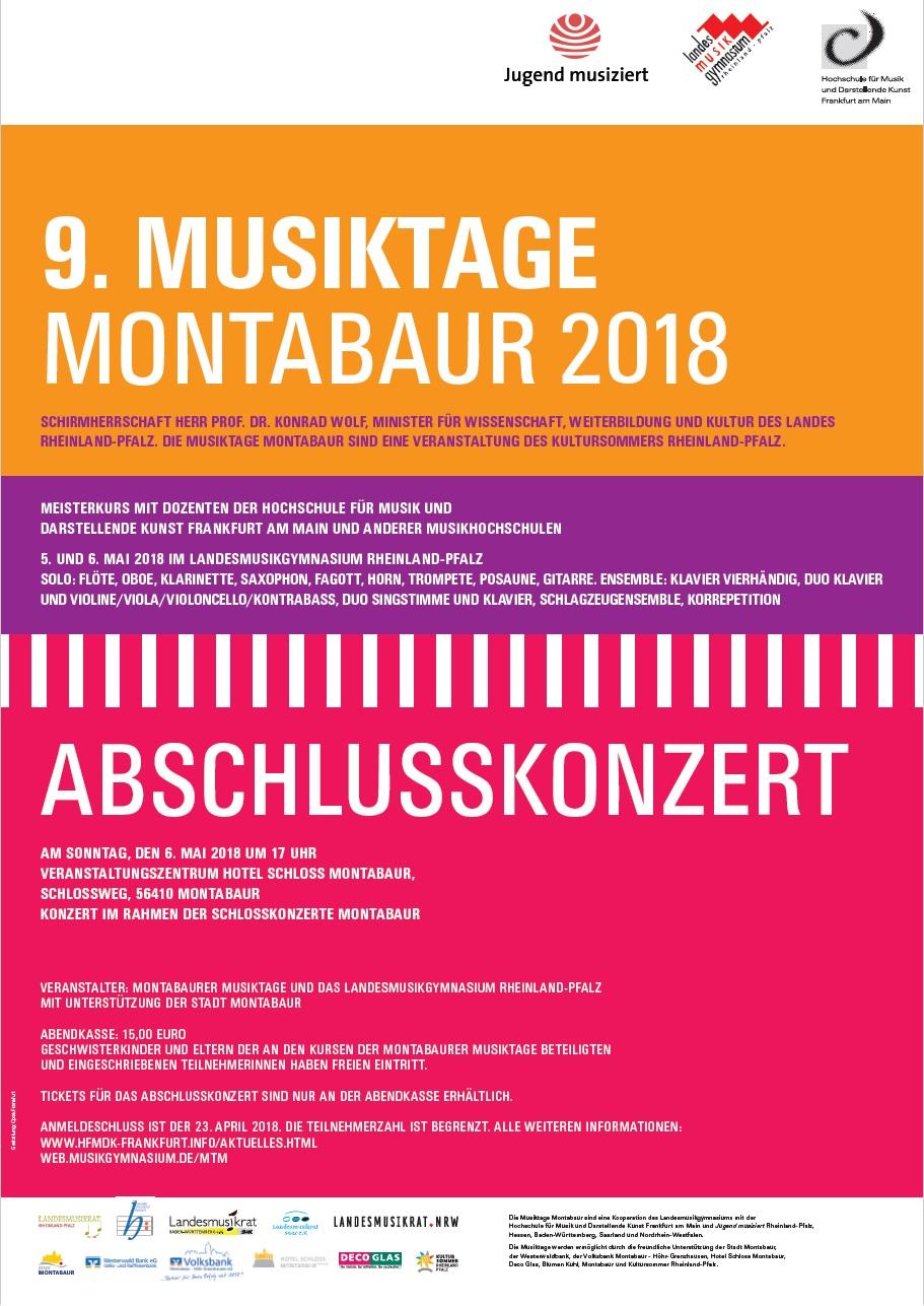 9 musiktage montabaur 2018landesmusikgymnasium rheinland pfalz. Black Bedroom Furniture Sets. Home Design Ideas