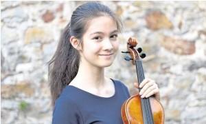 """Für Isabelle Raviol aus Montabaur ist Geigespielen eine Leidenschaft. Jetzt holte sie den ersten Preis beim Bundeswettbewerb in der Kategorie """"Violine solo"""". Foto: privat"""