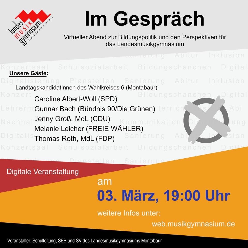 thumbnail_Plakat - Gespräch mit Landtagskandidaten - SEB