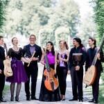 Das Ensemble Cembaless (Annabel Opelt Dritte von rechts)